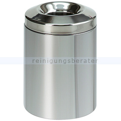 Papierkorb (feuersicher) Brabantia 7 L Edelstahl
