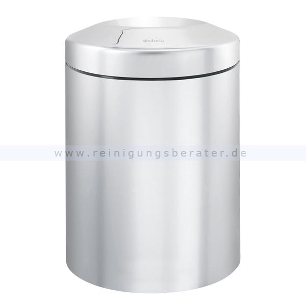 Papierkorb (feuersicher) Brabantia 7 L Edelstahl matt selbstlöschender Papierkorb 55378942