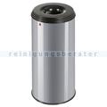 Papierkorb (feuersicher) Hailo ProfiLine Safe 50 L Silber