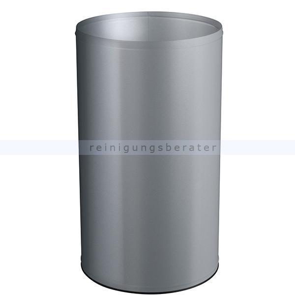 NEO Rossignol Papierkorb 110 L Metallgrau feuersicher feuerfester Abfallbehälter aus Stahl 52249