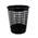 Zusatzbild Papierkorb 50 L Kunststoff, schwarz