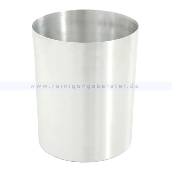 ReinigungsBerater Papierkorb aus Aluminium 13 L Mülleimer ohne Deckel, feuerfest 31051328