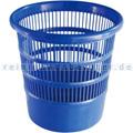 Papierkorb Bekaform blau 12 L