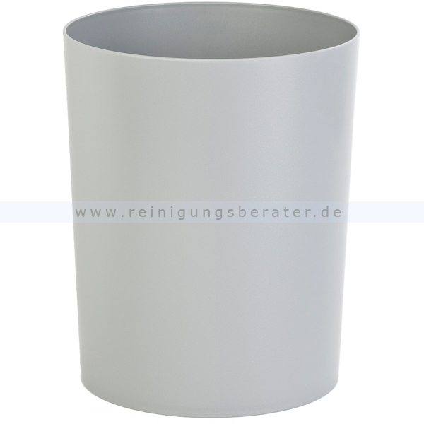 Feuerhemmender HAN Papierkorb 13 L grau feuerhemmender Papierkorb aus Kunststoff 73181410