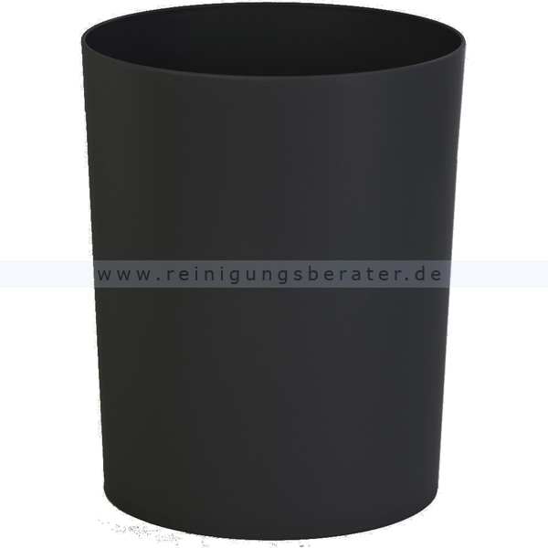 Feuerhemmender HAN Papierkorb 13 L schwarz feuerhemmender Papierkorb aus Kunststoff 73181427