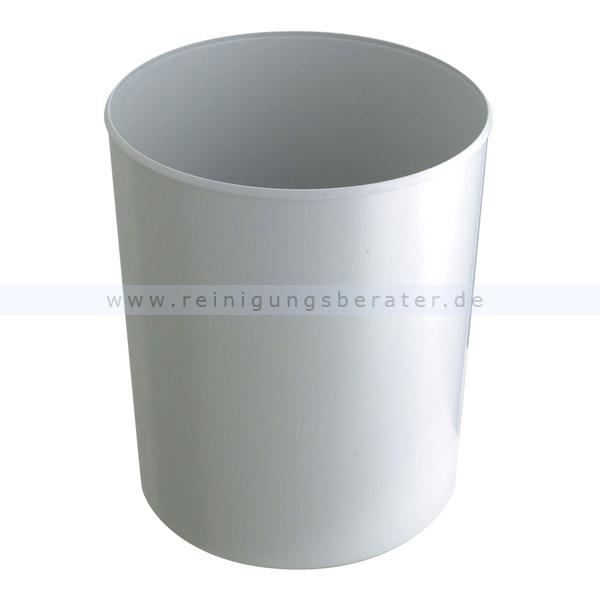 Feuerfester HAN Papierkorb 20 L Grau feuerfester Papierkorb ohne Deckel 73182103