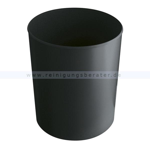 Feuerfester HAN Papierkorb 20 L schwarz feuerfester Papierkorb ohne Deckel 73182110
