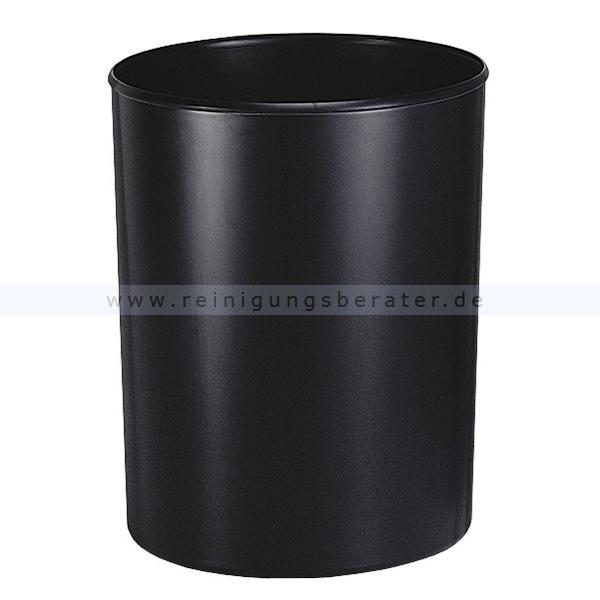 Feuerfester Papierkorb HAN mit Inneneimer 13 L Schwarz feuerfester Papierkorb ohne Deckel 73181465