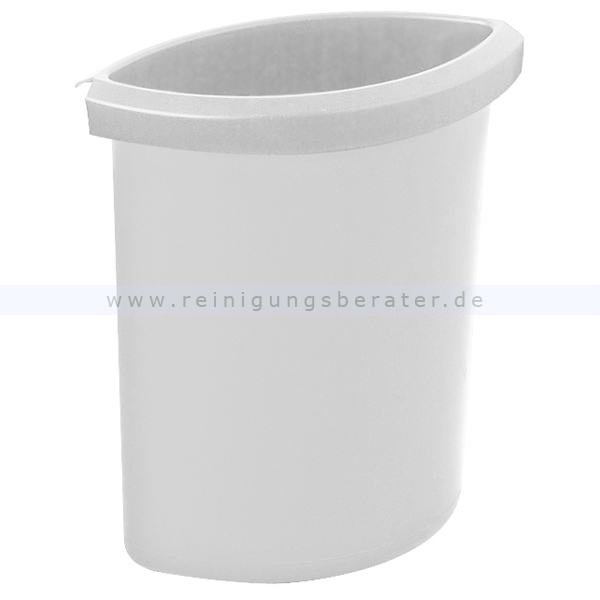 Papierkorb HAN Einsatz 6 L Grau Zubehör für runden Papierkorb 73183797