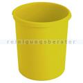 Papierkorb HAN Kunststoff 30 L gelb