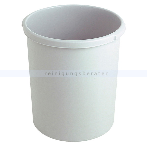 Papierkorb HAN Kunststoff 30 L Grau Mülleimer ohne Deckel 73183308