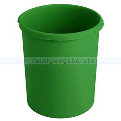 Papierkorb HAN Kunststoff 30 L grün