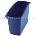 Papierkorb HAN Mondo blau 18 L