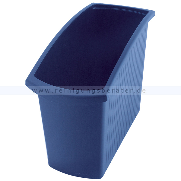 Papierkorb HAN Mondo blau 18 L Mülleimer ohne Deckel 73184084