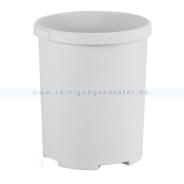 Papierkorb HAN rund 50 L Grau Mülleimer ohne Deckel 1836-11