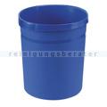 Papierkorb Kunststoff blau 18 L