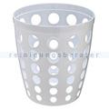Papierkorb Orgavente BASKET Abfallbehälter weiß 12 L