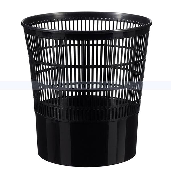 CAP Rossignol Set 20 x 16L Mülleimer Polypropylen in schwarz aus Polypropylen 59490