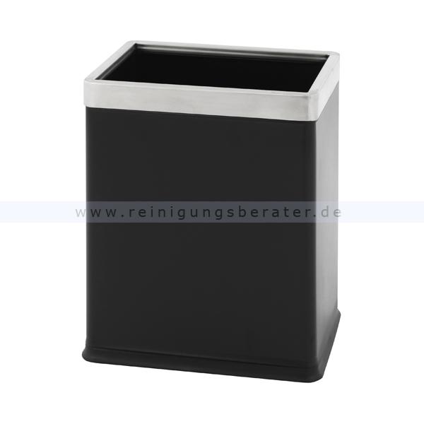 papierkorb schwarz 10 l. Black Bedroom Furniture Sets. Home Design Ideas