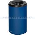 Papierkorb VAR Mülleimer feuersicher Stahlblech 110 L blau