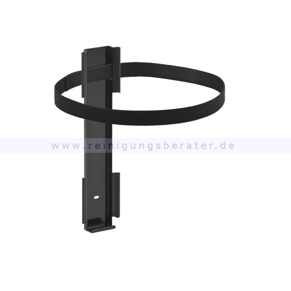 ReinigungsBerater Papierkorb Wandbefestigung passend für Runden Papierkorb 30 & 50 L aus Metall 31043101