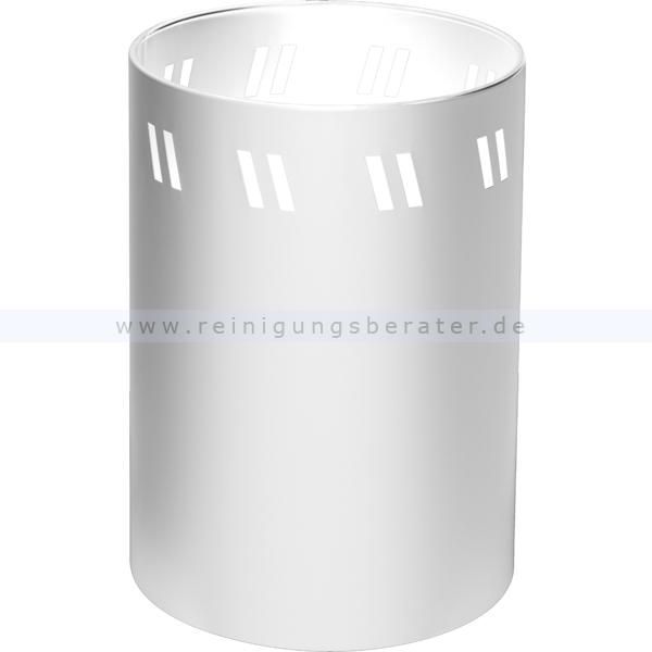 Papierkorb Wesco weiß 166401-01