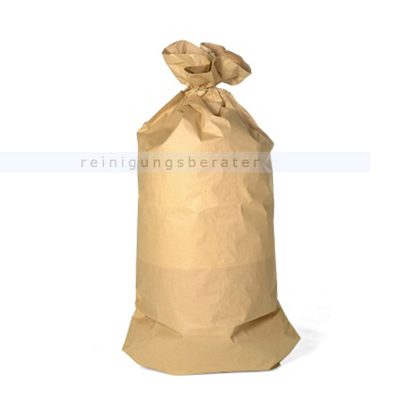 WBV Oelde Papiersäcke 120 L Gewicht: ca. 75 g/qm, 25 Stück/Bund, 700 x 950 mm, 2-lagig 480144
