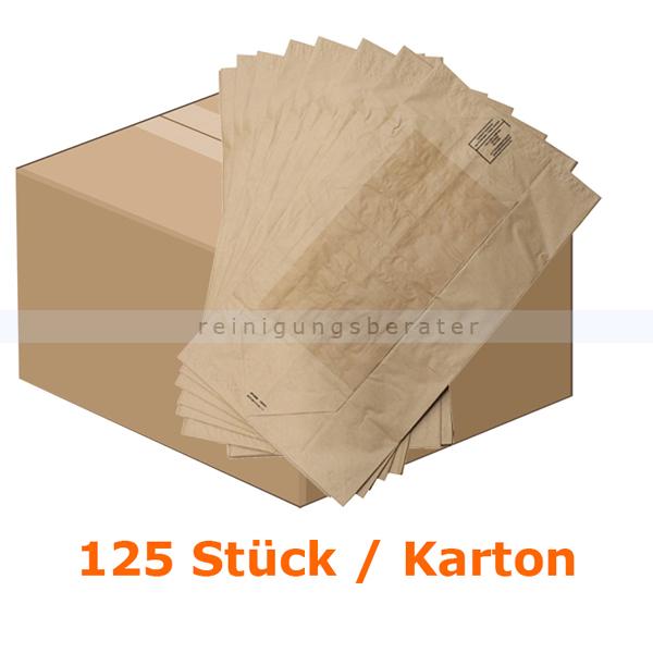 Papiersäcke Natura Biomat kompostierbar 240 L KARTON 125 Stück/Karton, biologisch abbaubar und kompostierbar PSE-240-ZF