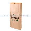 Papiersäcke Natura Biomat Kraftpapier kompostierbar 120 L