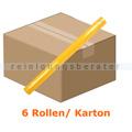 Papiertischdecke Tischtuchrolle Airlaid gelb 24 m x 120 cm