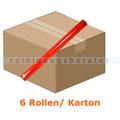 Papiertischdecke Tischtuchrolle Airlaid rot 24 m x 120 cm