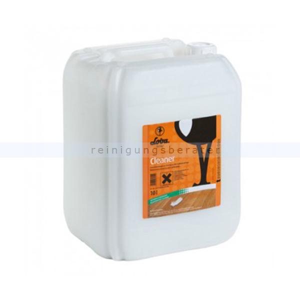 Loba Cleaner 10 L PH-neutral Parkettreiniger schonender Unterhaltsreiniger für Parkett 101754-32