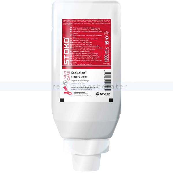 Stoko® STOKOLAN® parfümiert 1 L Pflegecreme, 22326 Pflegecreme für Hände und Gesicht