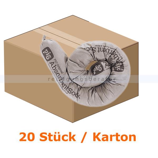 New Pig PIG® ORIGINAL Saugstrumpf - Absorptionsmaterial Strumpf/Schlauch dia 8 cm x 122 cm 204