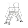 Podestleiter Hymer Podesttreppe 2x4 Stufen