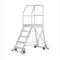 Podestleiter Hymer Podesttreppe einseitig begehbar 4 Stufen