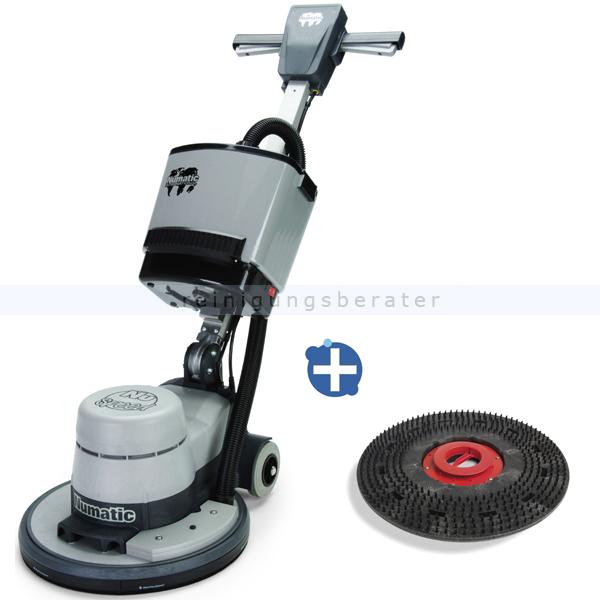 Numatic NRS 450 Poliermaschine inkl. Absaugung Einscheibenmaschine für die Pflegefilmsanierung 704583+606056