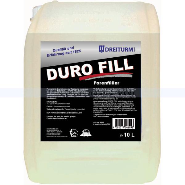 Porenfüller Dreiturm Duro Fill 10 L Grundierung zur Beschichtung und Versiegelung 4605