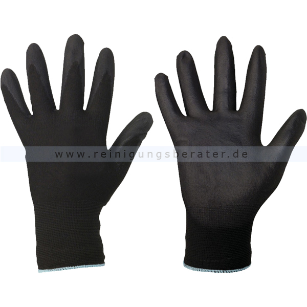 PU Handschuhe Dark Grip Gr. L