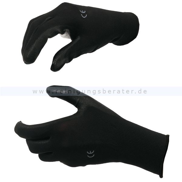 PU Handschuhe KC JACKSON SAFETY G40 Gr. 11 Schwarz