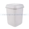Push-Deckeleimer Quatro aus Kunststoff 12 L, neutral