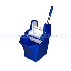 Putzeimer Cleanboy mit Presse, blau 15 L