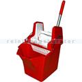 Putzeimer Cleanboy mit Presse, rot 15 L