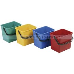 Putzeimer Floorstar E 6 Kunststoff 6 L rot