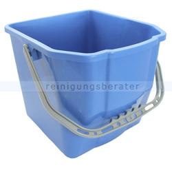 Putzeimer für Reinigungswagen 18 L Blau