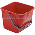 Putzeimer für Reinigungswagen DOFA 20 17 L rot
