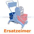 Putzeimer für Reinigungswagen Ersatzeimer blau 25 L