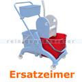 Putzeimer für Reinigungswagen Ersatzeimer rot 25 L