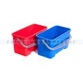 Putzeimer für Reinigungswagen Floorstar TopDown 22 L rot