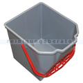 Putzeimer für Reinigungswagen Kowa Profi 25 L grau rot